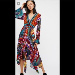 Free People Over The Rainbow Maxi Dress